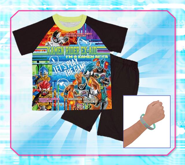 「仮面ライダーエグゼイド 勇気がでる!光るパジャマ」を1名にプレゼント!