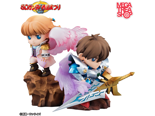 新SDガンダム外伝鎧闘神戦記 騎士ヒイロ&天使リリーナ姫