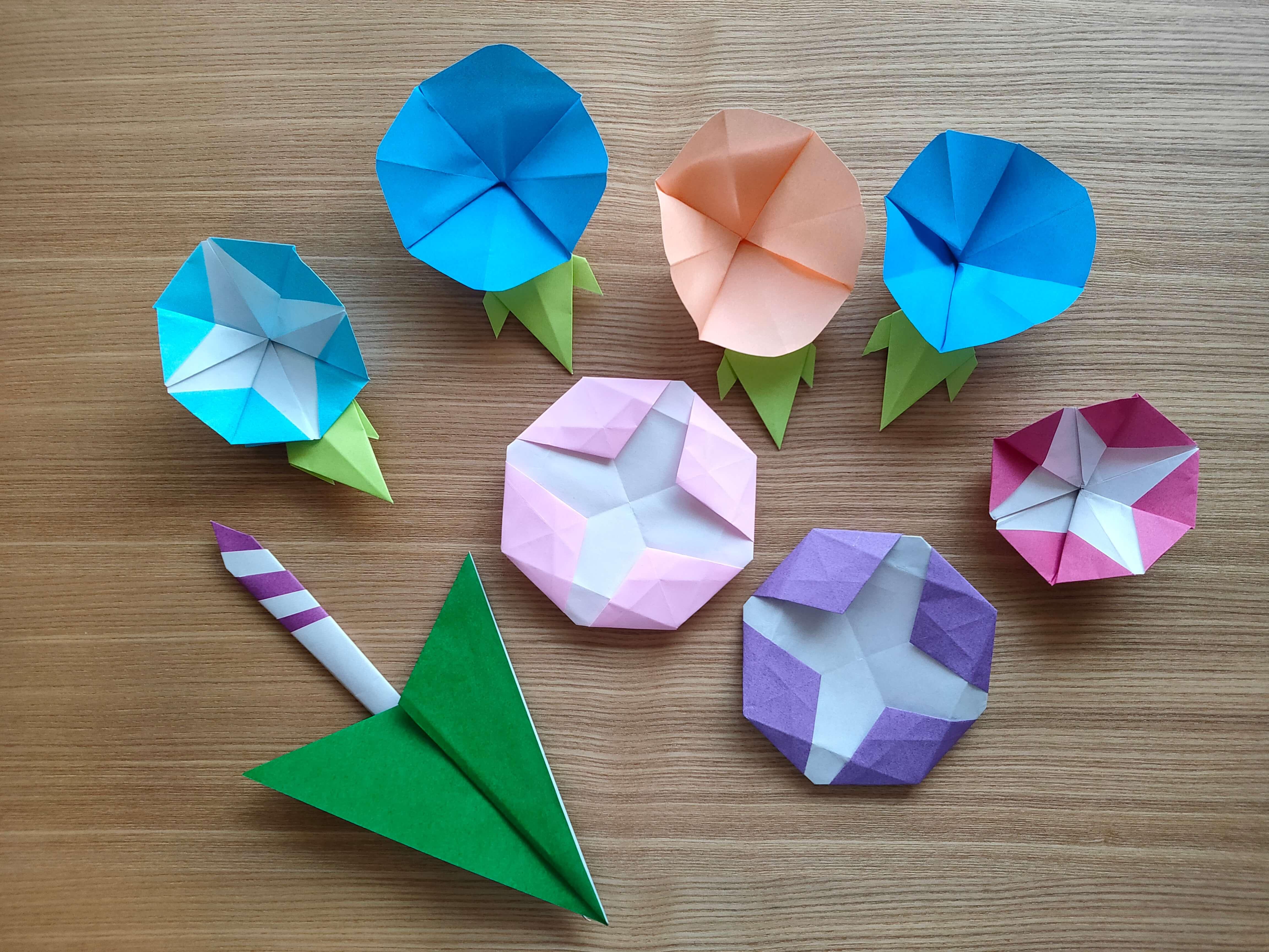 折り紙 プロペラ