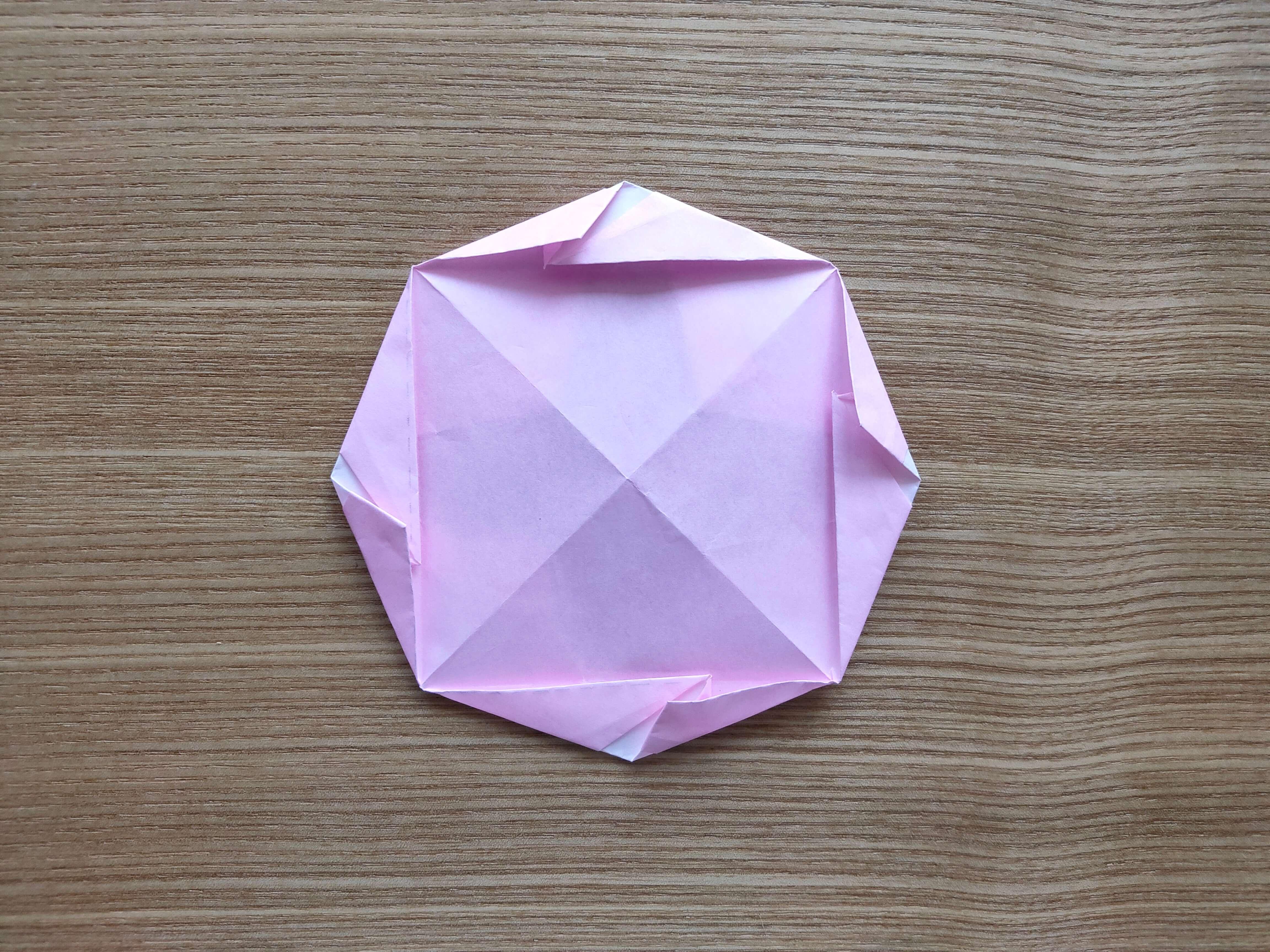 2-59折り紙】朝顔(あさがお)の葉っぱの作り方