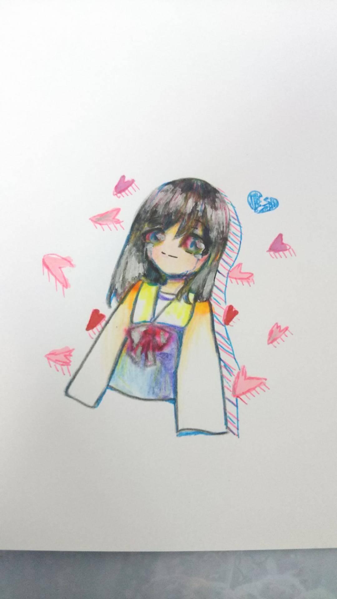 綺麗に散った恋 イラストコンテスト 春をテーマにイラストを描いて