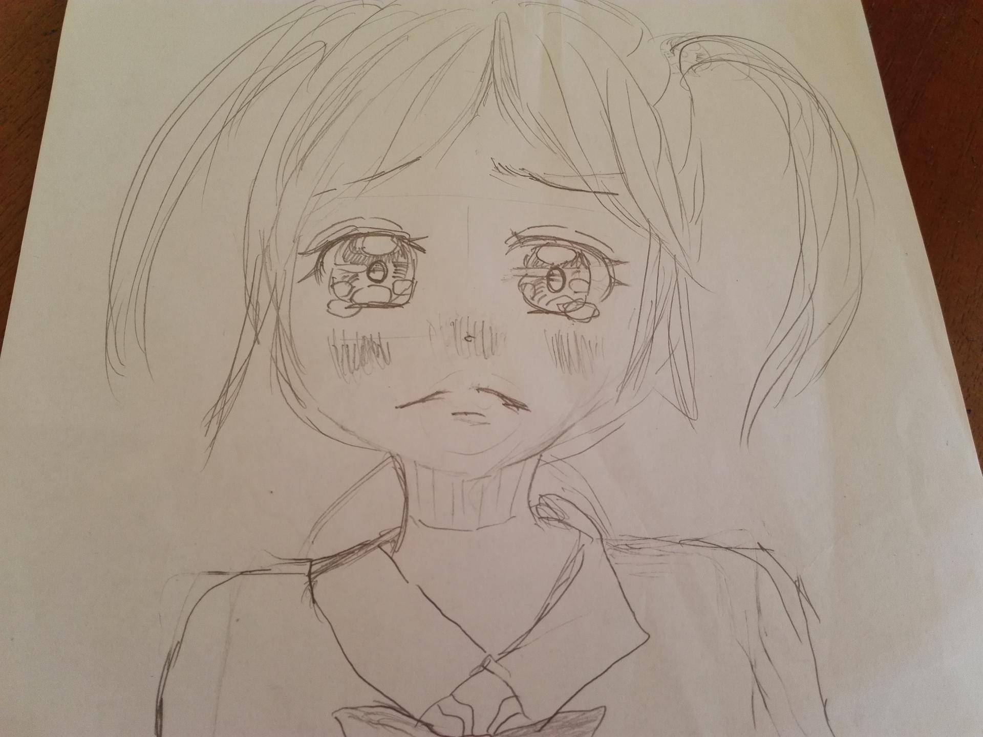 泣かないもん ちゃお イラストコンテスト かわいい女の子の絵を