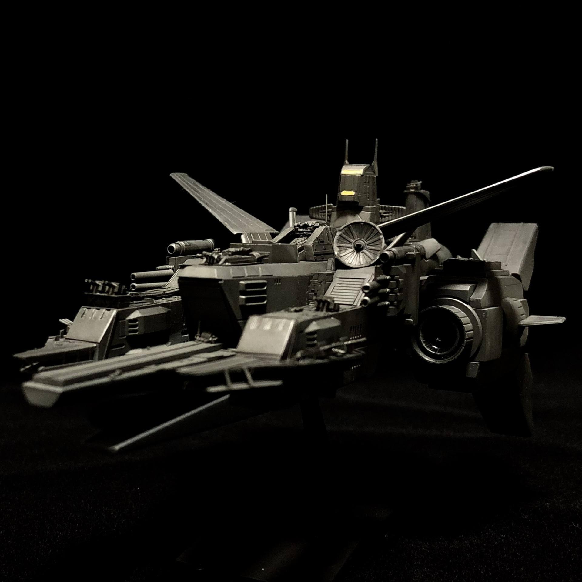 地球連邦宇宙軍ペガサス級改軽空母ハーミズ | #電撃ホビーウェブ ...