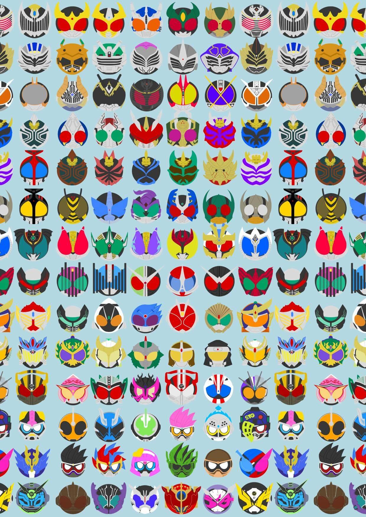あなたの好きな仮面ライダーは誰ですか 平成仮面ライダー20作品