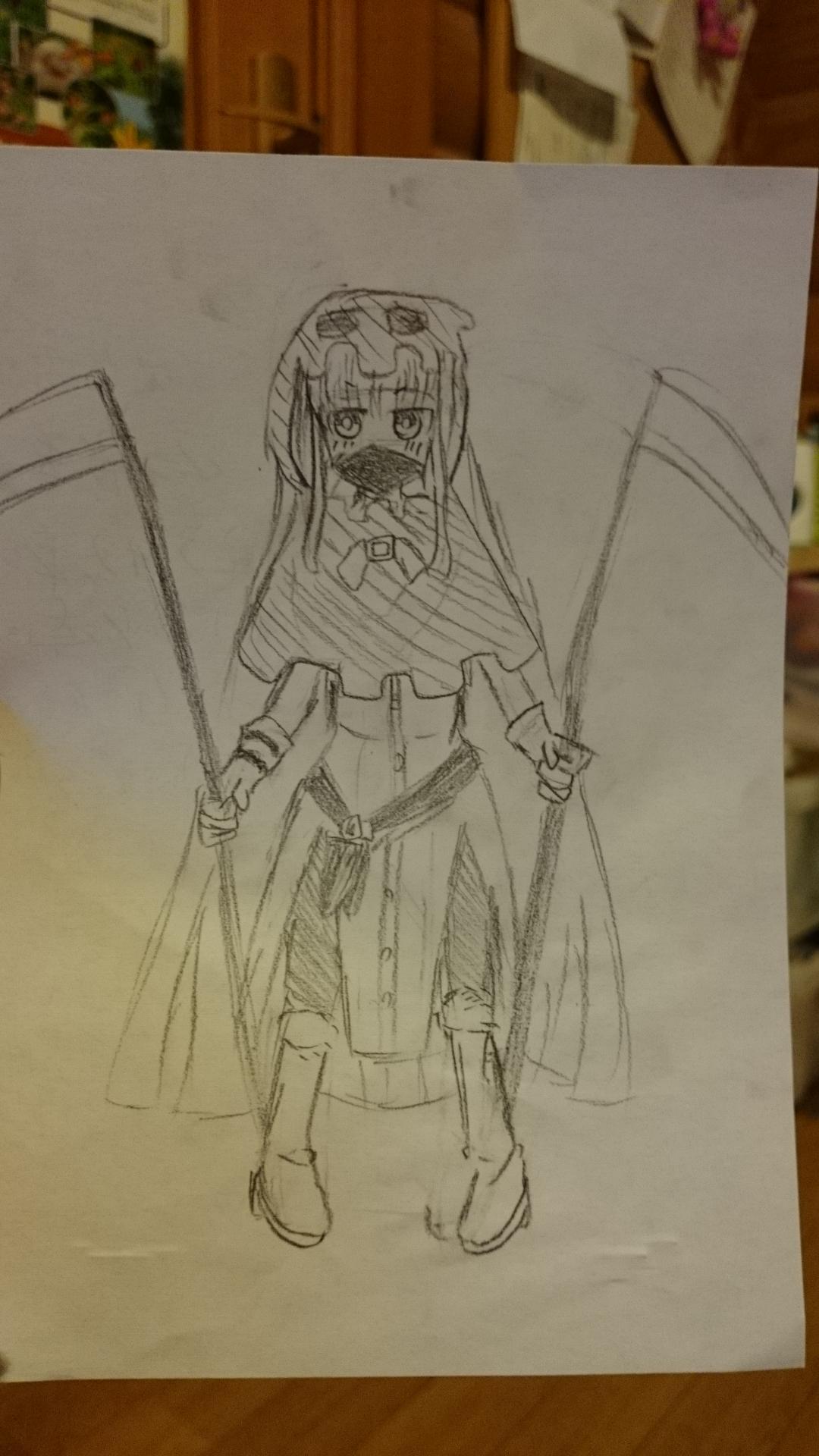 死神ちゃん ちゃお イラストコンテスト かわいい女の子のイラストを