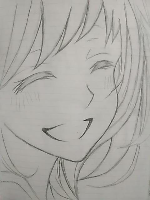 笑顔 ちゃお イラストコンテスト かわいい女の子の絵を描い